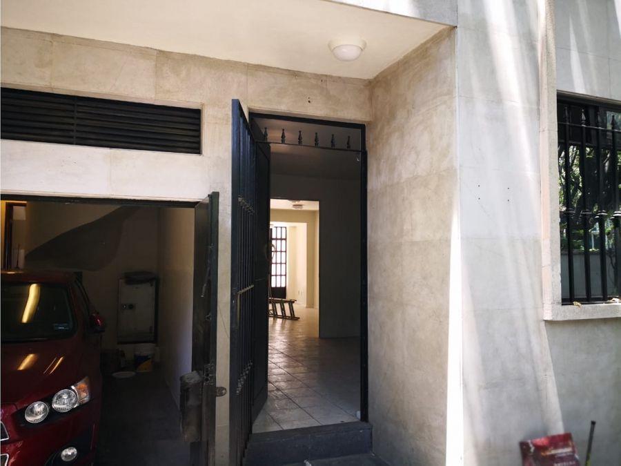 bonita casa remodelada para oficinas o habitacional anzures