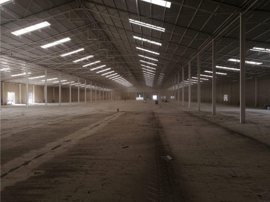 excelente bodega de 4540 m2 carretera mexico pachuca