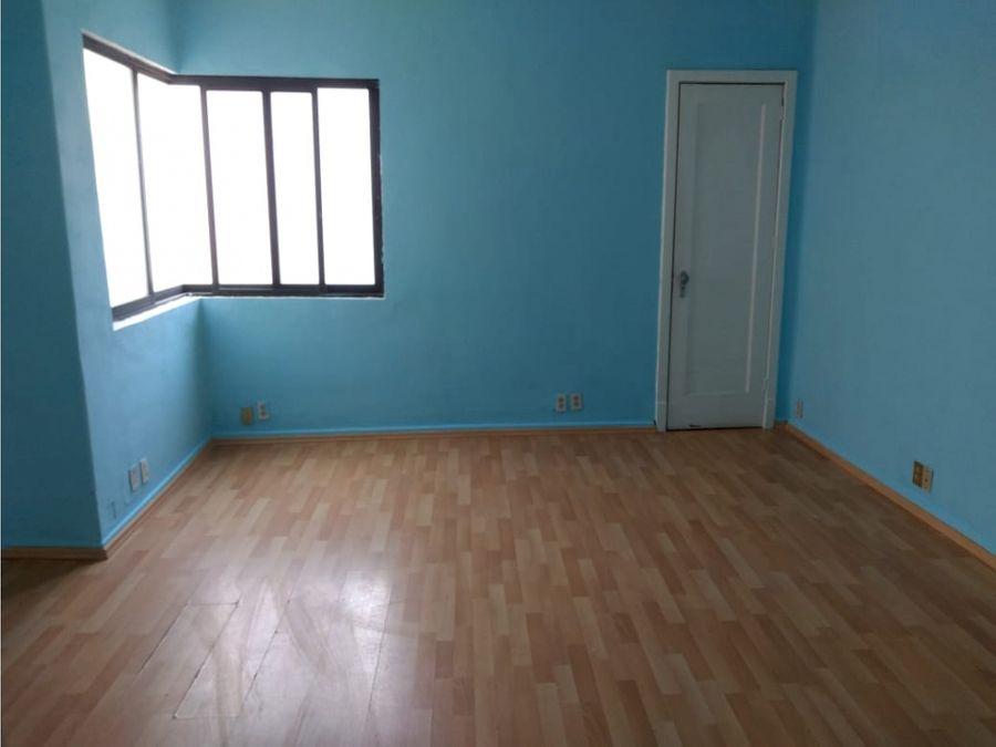 oficina de 4 privados 2 banos integrados 91 m2 roma sur