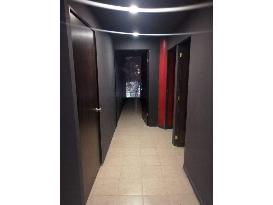 oficina de 100 m2 con 4 privados recepcion roma norte