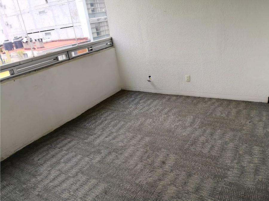 oficinas de 160 m2 con 4 privados 2 banos integrados rio elba