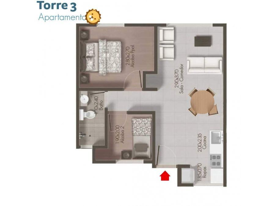 apartamento para vender en el sur de armenia