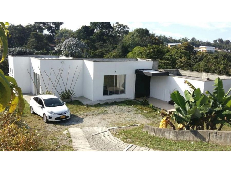 venta casa campestre en circasia quindio