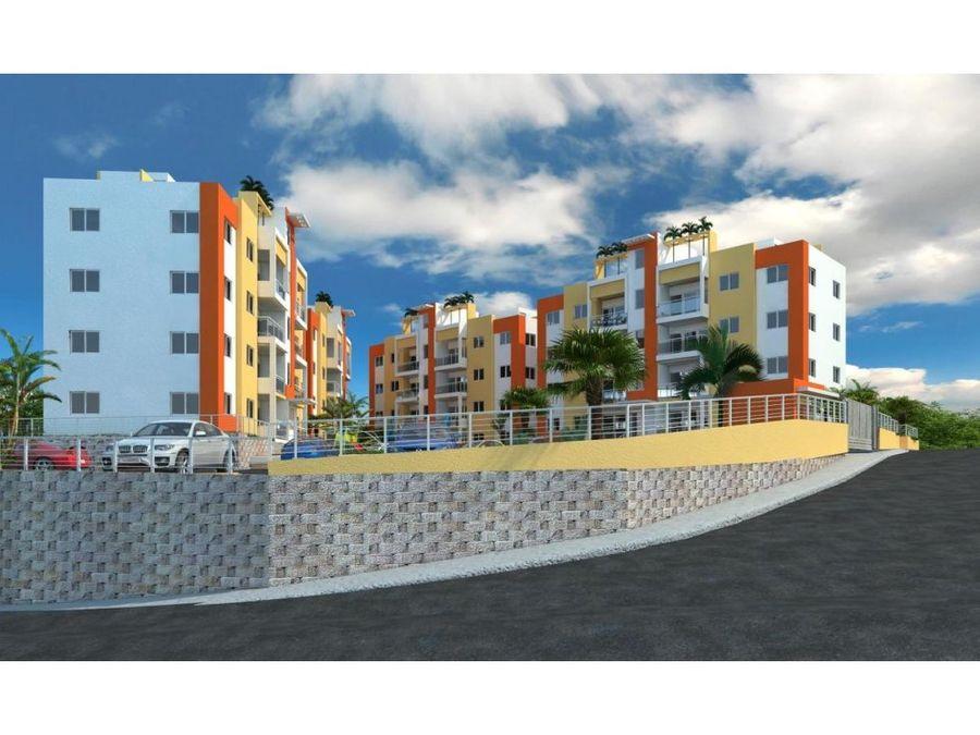 vista de la colina proyecto con bono vivienda
