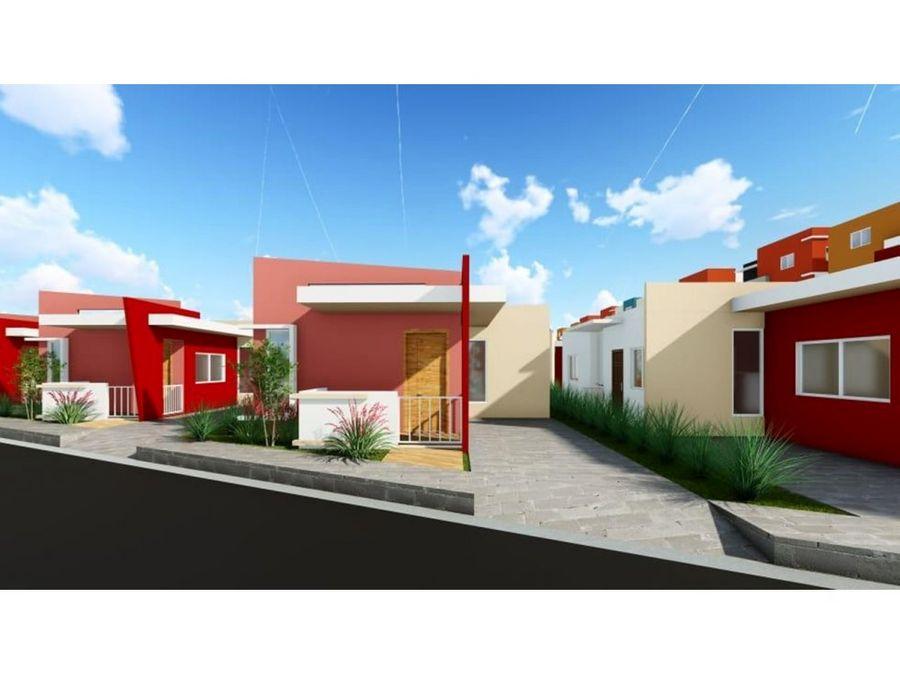 west land proyecto de casas en la romana