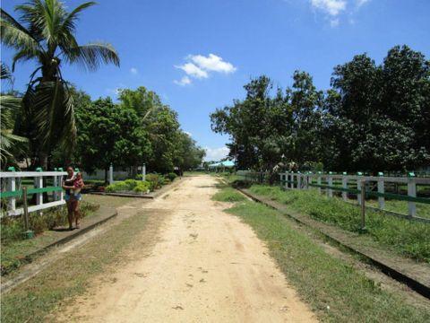 vendo lote comercial la granja turbaco bolivar