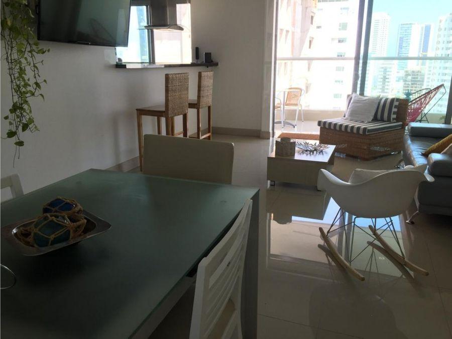 vendo apartamento barrio castillogrande cartagena