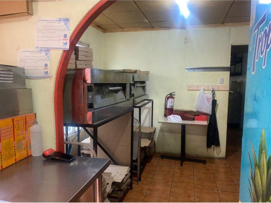 oportunidad de negocio se vende pizzeria con apto