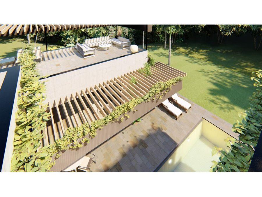 villa rodas con 4 hab en construccion en caleton cap cana
