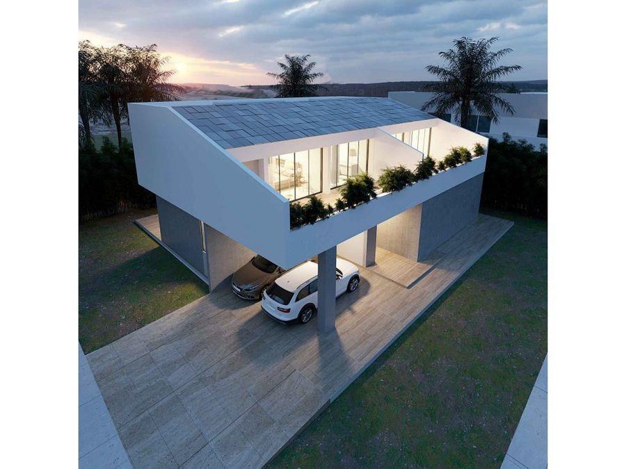 villa nueva de 3 hab y estudio en puntacana village