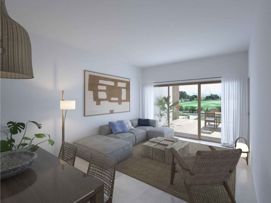 hermoso apartamento en construccion de 3hab con vista al golf
