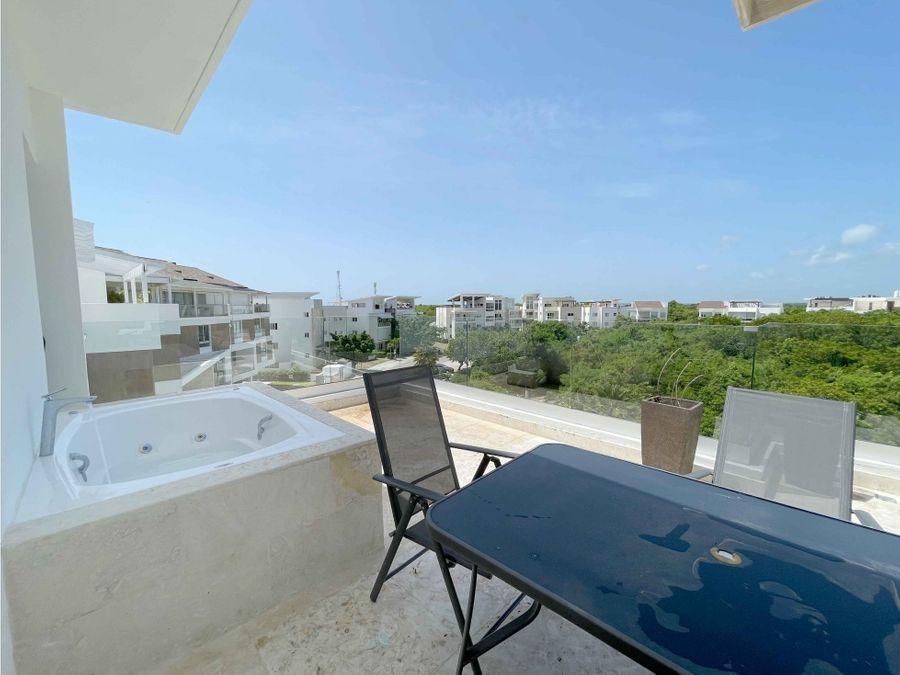hermoso penthouse de 3 hab en punta cana village