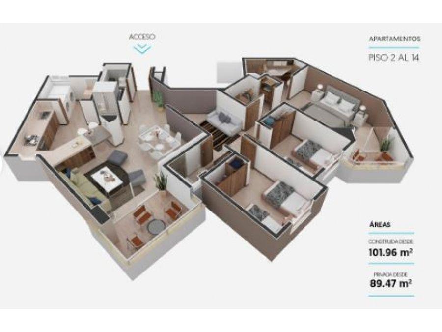apartamento en nordika