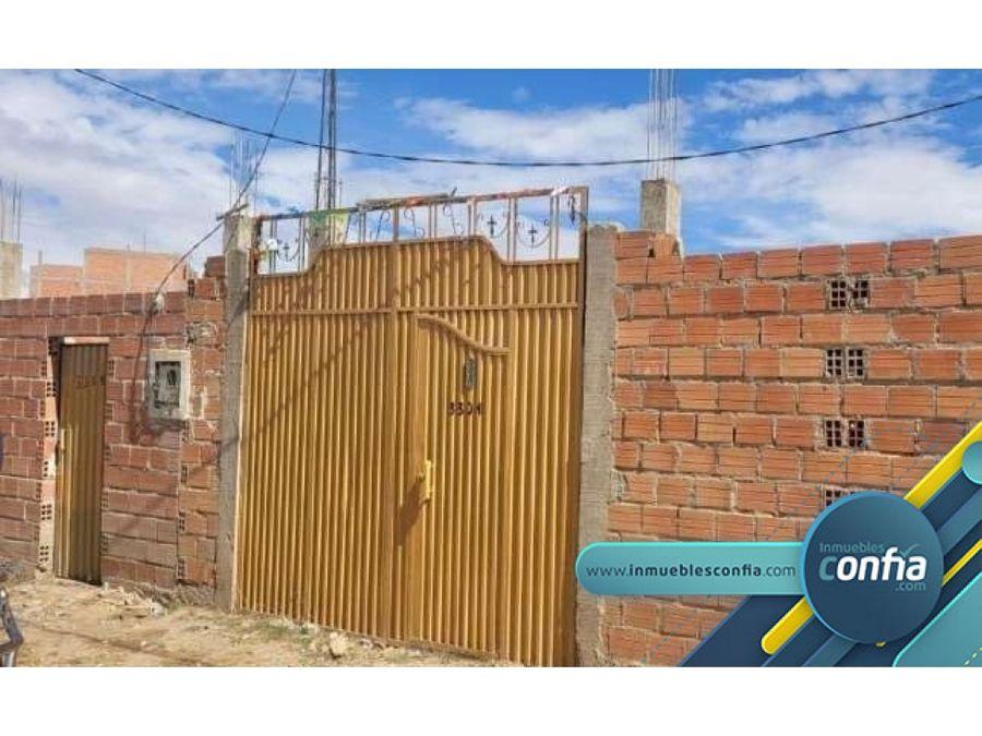 casa en venta avenida augusto valda chavarria el alto