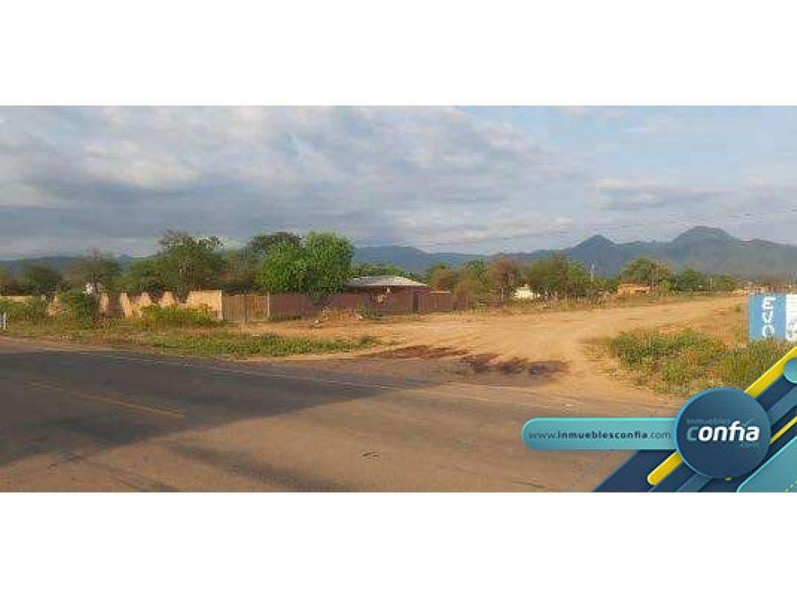 terreno en venta carretera villamontes zona sur gran chaco