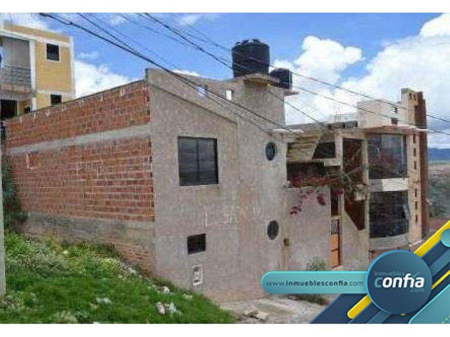 casa en venta barrio cal oreko sn ciudad de sucre