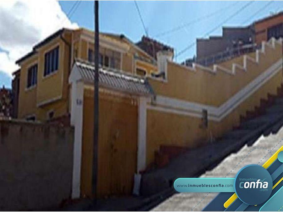 casa en venta urb ciudadela minera san jose calle prolongacion