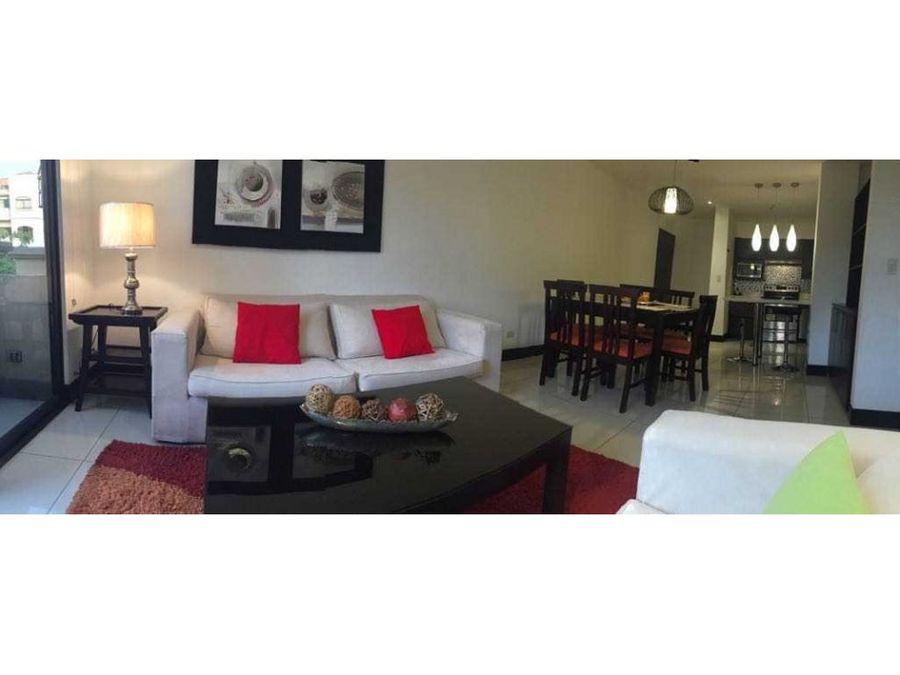 apartamento alquiler en santa ana amueblado codigo 802162