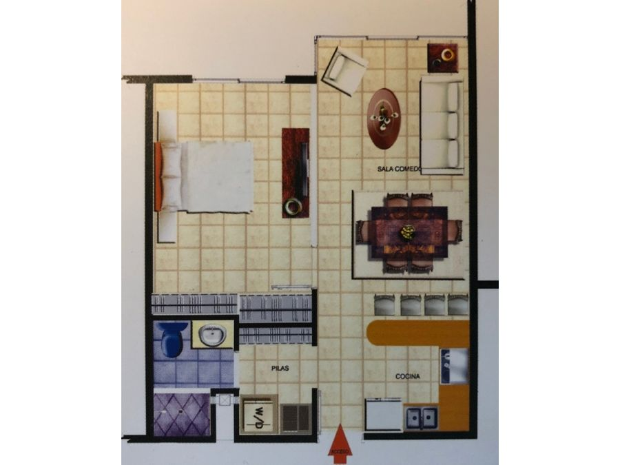 apartamento en alquiler en lourdes de montes de oca codigo 2777490