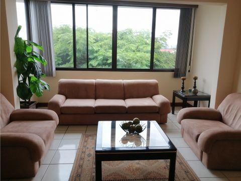apartamento alquiler con y sin muebles en la uruca cod2746507