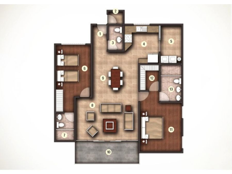 apartamento en escazu linea blanca 1570647