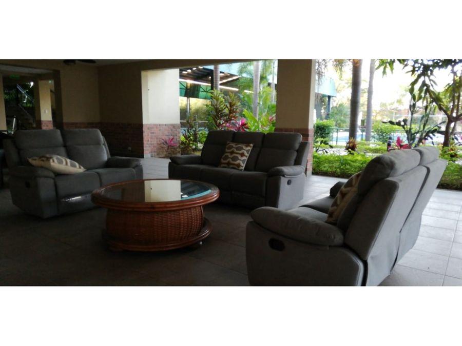 apartamento alquiler o venta en heredia belen con muebles 3252144