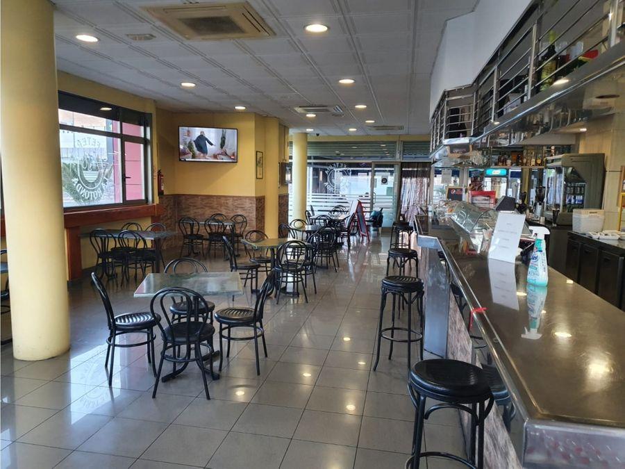 se vende bar cafeteria en poligono guimar