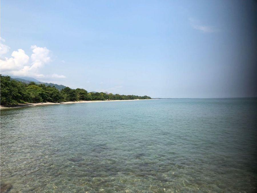 se vende lote de terreno en playa virgen