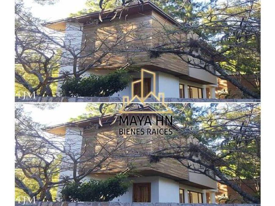 se vende hermosa y exclusiva casa en santa lucia
