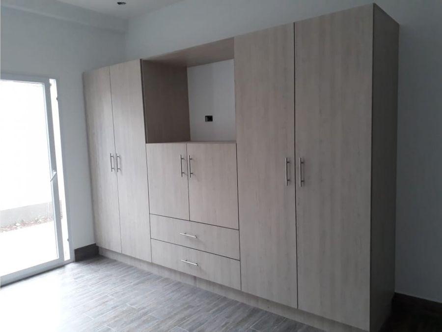 apartamento en residencial tepeyac