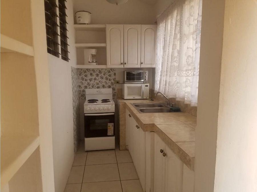 alquiler apartamento en residencial la hacienda