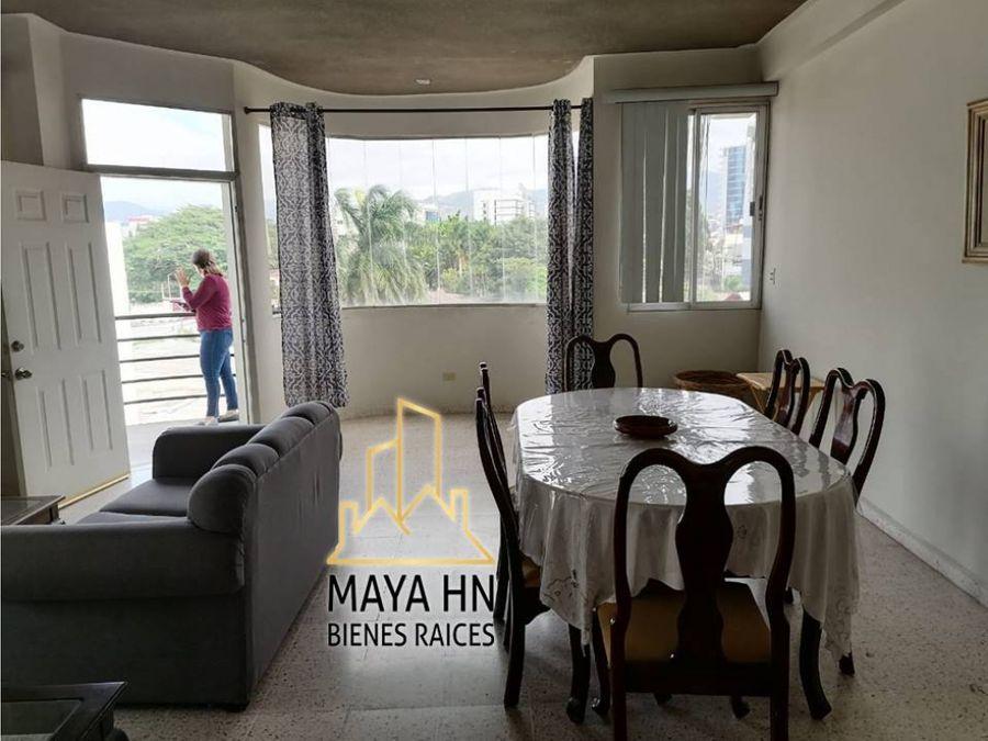 se alquila apartamento amueblado en col palmira