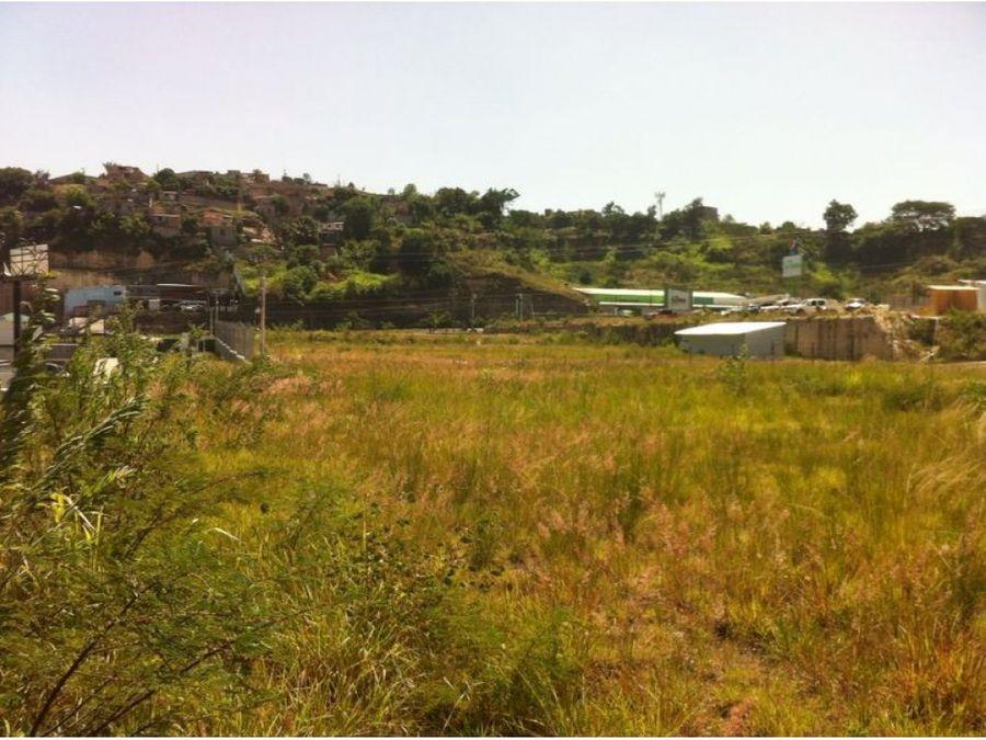 se vende terreno en el parque periferico