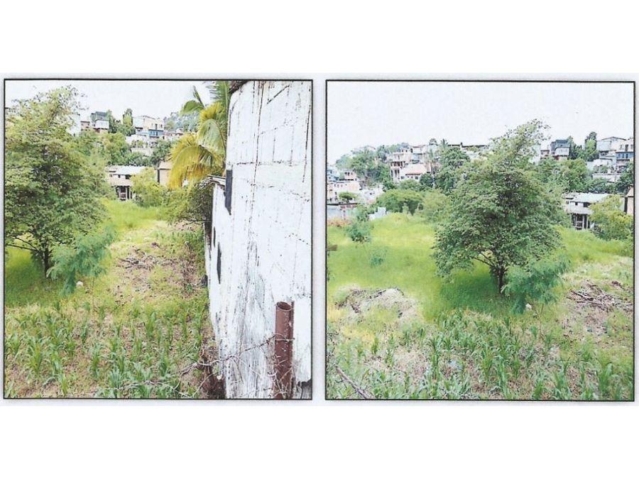 se vende lote de terreno en la colonia interamericana