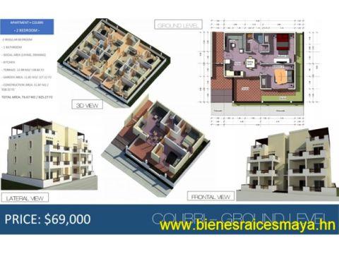 se vende apartamento en residencial roatan one
