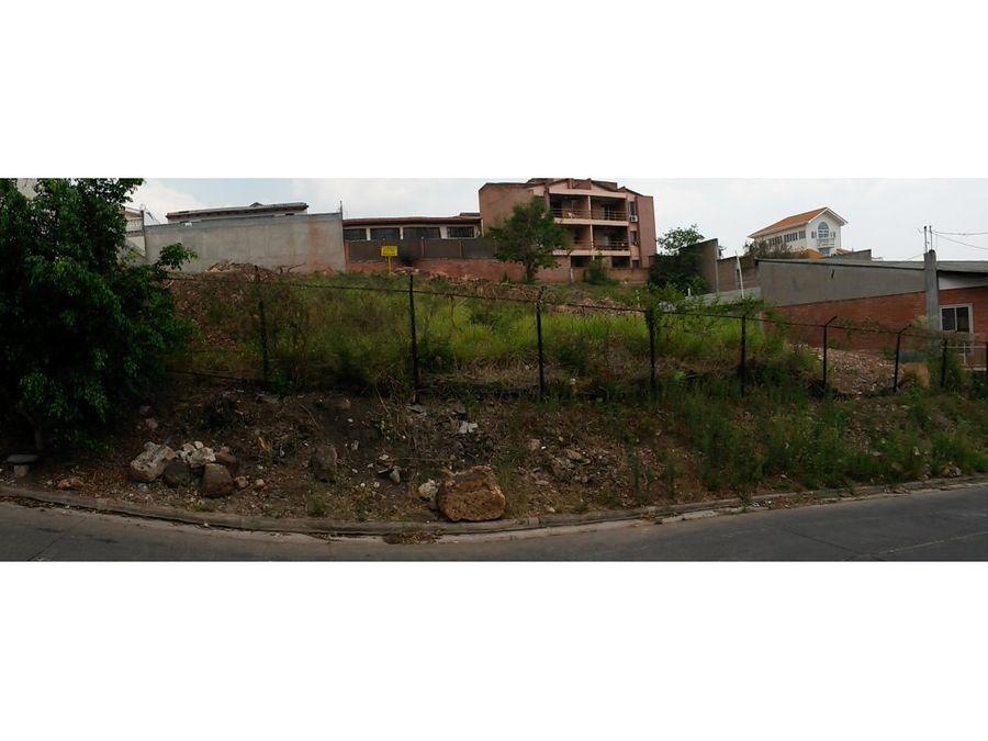 se vende terreno en residencial loma linda norte