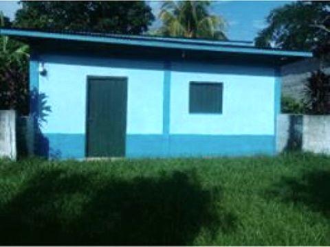 se vende casa en santa cruz de yojoa