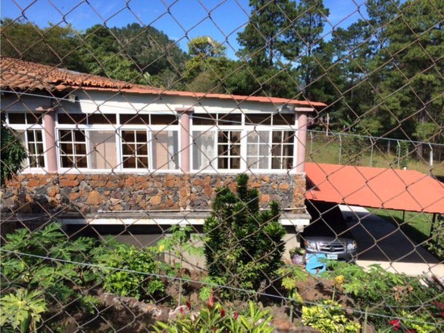 se vende casa campo en zambrano