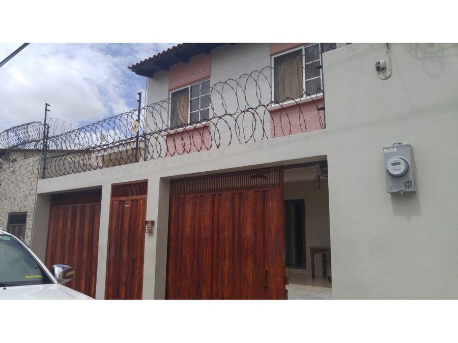 se vende casa en la residencial venecia