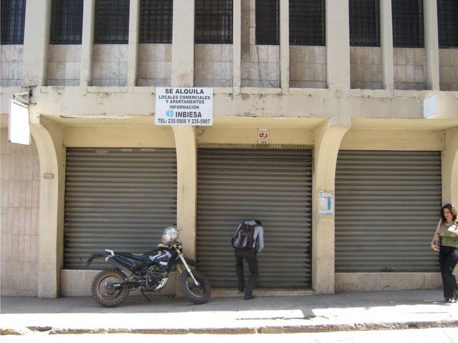 se alquila local comercial en el barrio la hoya