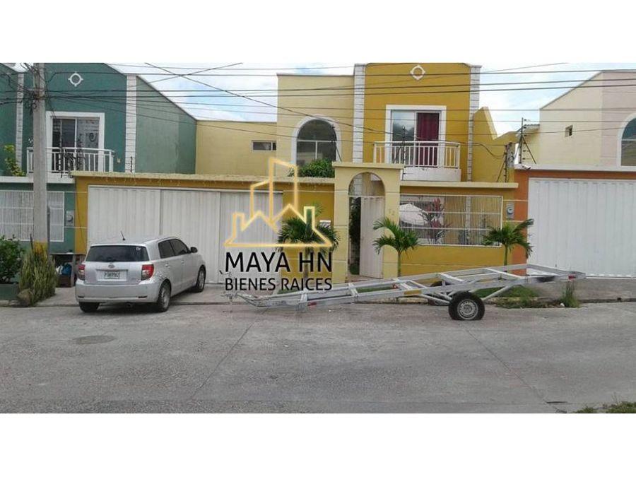 se vende casa en res villas del real tegucigalpa