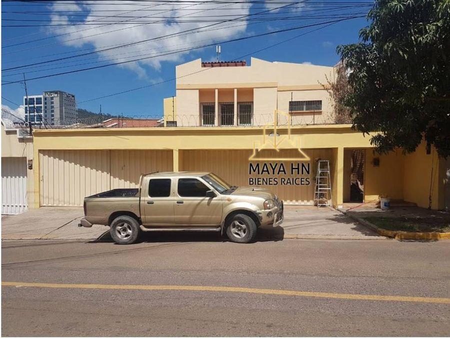 se alquila casa en lomas del guijarro tegucigalpa