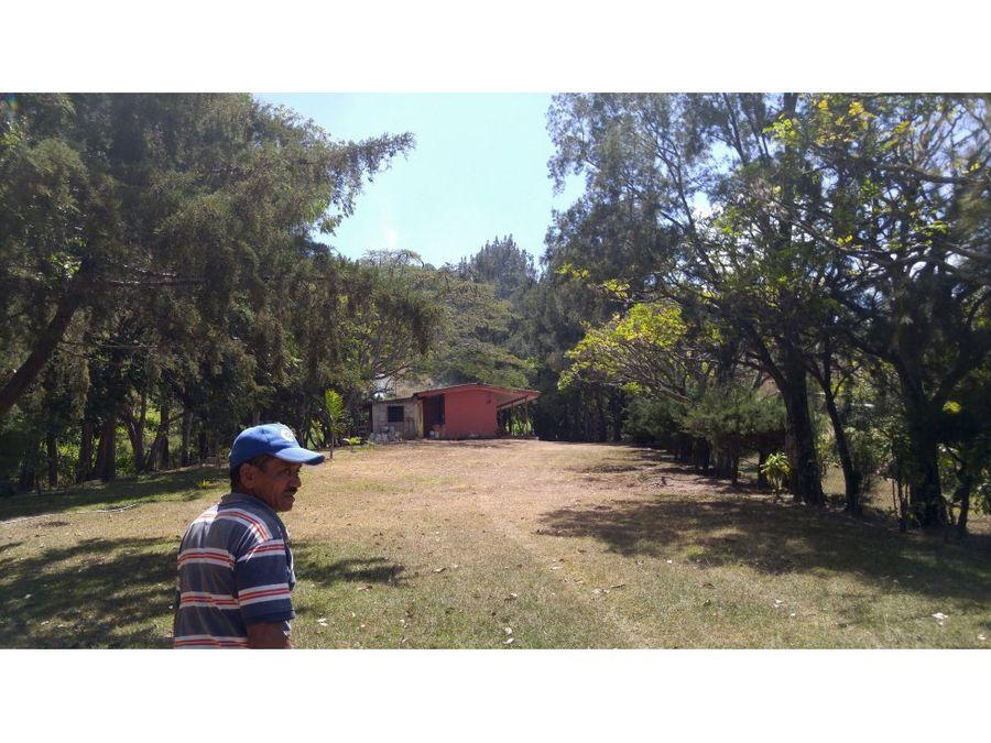 se vende terreno en santa lucia sabana redonda
