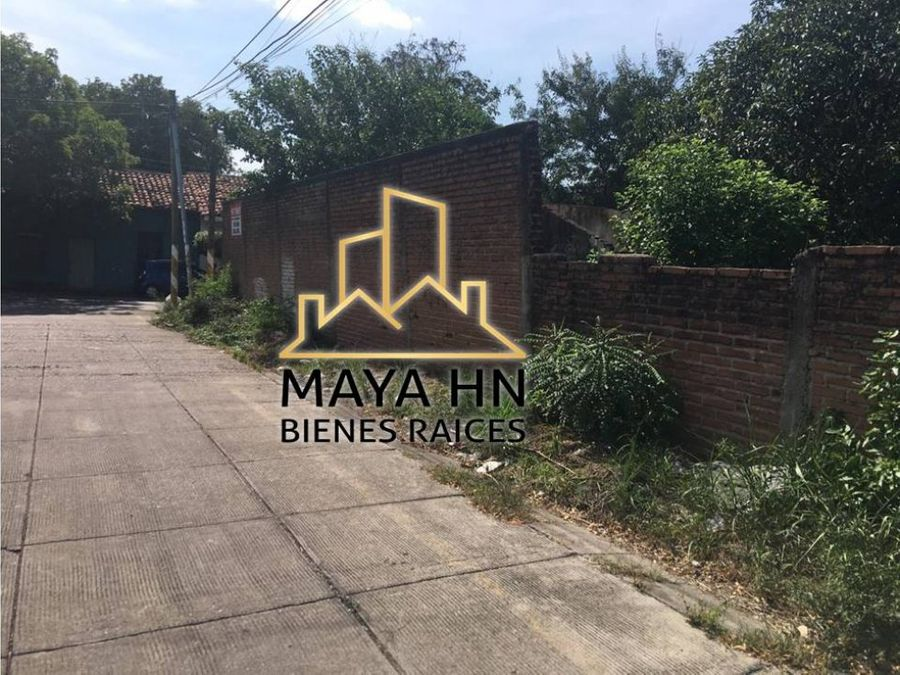 se vende terreno en choluteca