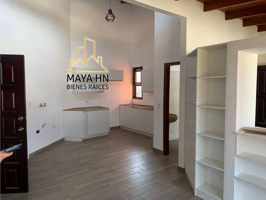 se alquila apartamento nuevo en res el trapiche