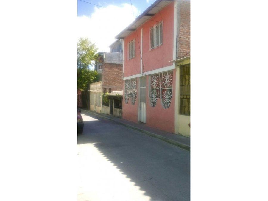 se vende casa en colonia monte limar tegucigalpa