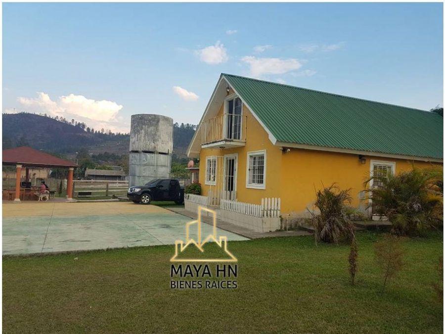 se vende propiedad con dos casas de campo en zambrano lote no6