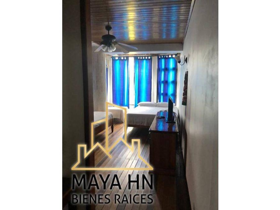 se vende hotel 3 estrellas frente la playa tela honduras