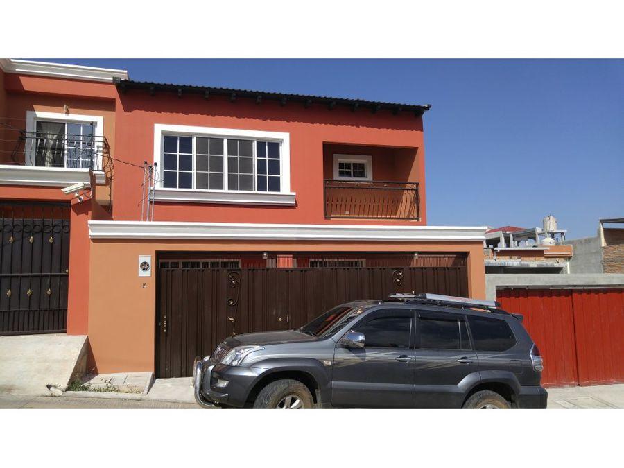 se vende o alquila casa en residencial venecia