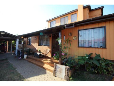 se vende hermosa casa con terreno de 1700mts2 en olmue